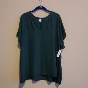 NWT Green Top - Old Navy